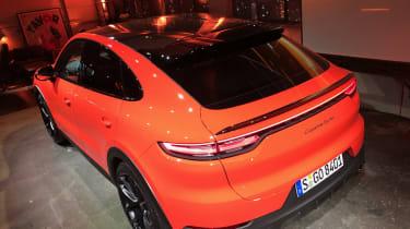 Porsche Cayenne Coupe - rear quarter