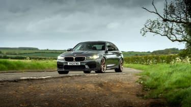 BMW M5 CS – front quarter