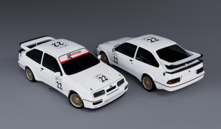 CNC Motorsport AWS Sierra Cosworth RS500 –front and rear