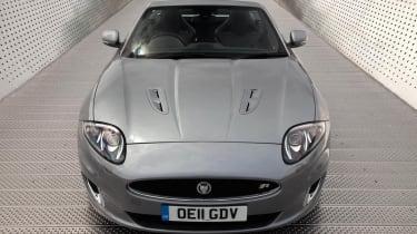 2013 Jaguar XKR Convertible front steel grey