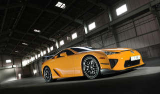 Lexus LFA laps the Nurburgring in 7:14