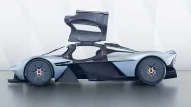 Aston Martin Valkyrie - profile doors up