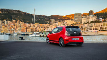 Volkswagen Up GTI 2018 rear static