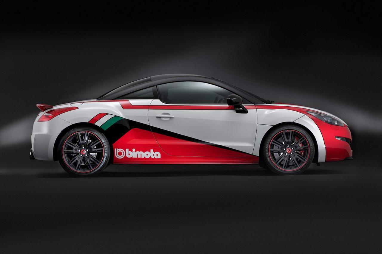 Peugeot Rcz R Gets 300hp Bimota Special Edition Evo