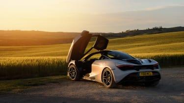 McLaren 720S in Italy - rear quarter