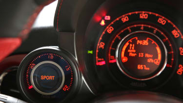 Abarth 595 50th Anniversary dials boost gauge