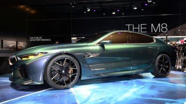 BMW M8 Concept - show side