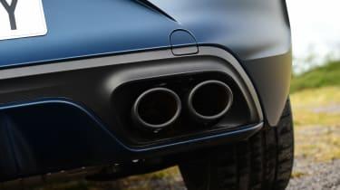 Cupra Leon 300–exhaust