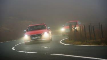 Wettest shoot in history - Audi in fog