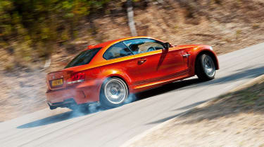 BMW 1-series M Coupe - rear drifting