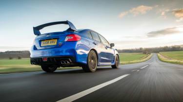 Subaru WRX Final Edition – rear quarter (low)