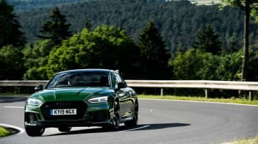 Audi RS5 Sportback review - cornering