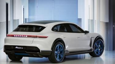 Porsche Mission E Turismo concept - rear quarter