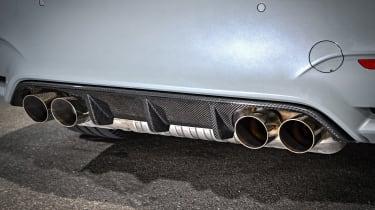 BMW M4 CS - exhaust