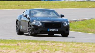 Bentley Continental GT - pre production driving