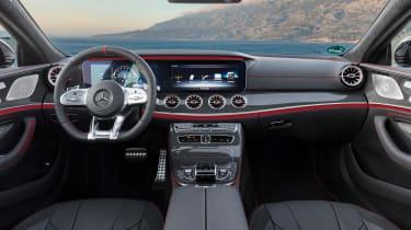 Mercedes-AMG CLS53 – dashboard