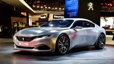 Peugeot Exalt concept: Paris motor show 2014