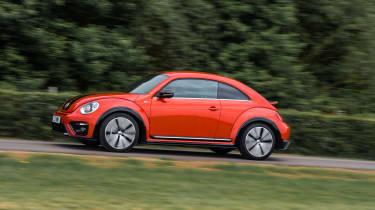 Volkswagen Beetle R-Line panning