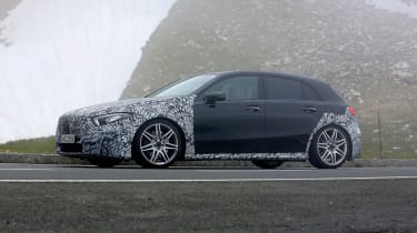 Mercedes-AMG A45 prototype - side