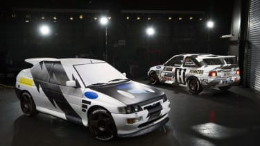 Ken Block's – Ford Escort RS Cosworth