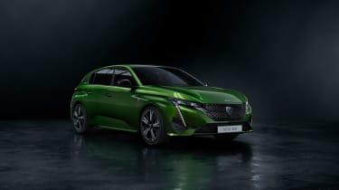 2021 Peugeot 308 - front quarter 2