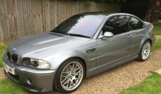 BMW M3 CSL – front quarter