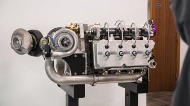 Ricardo factory shot JCB engine