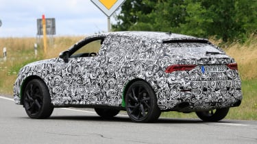 Audi RS Q3 Sportback - rear