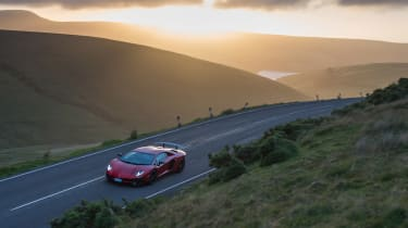 Lamborghini Aventador SV –top
