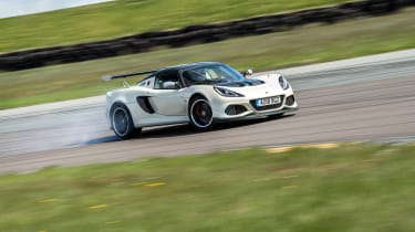 Road-legal supercars – Lotus Exige Cup 430 front