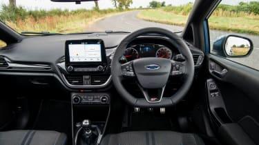 2018 Ford Fiesta ST - interior