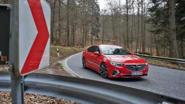 Vauxhall Insignia GSi Gran Sport – front quarter