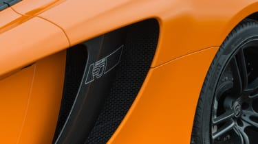McLaren 12C Spider – air intake
