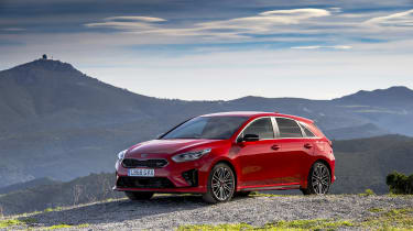 Kia Ceed GT review - static