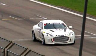 Aston Martin Rapide S hydrogen racer