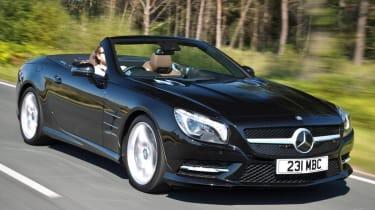 Mercedes SL400 Sport black