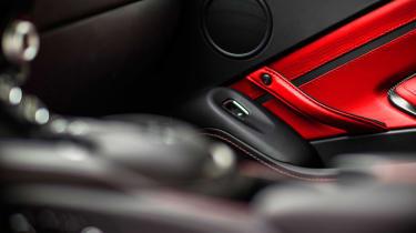 Aston Martin Vantage - silver tracking door card
