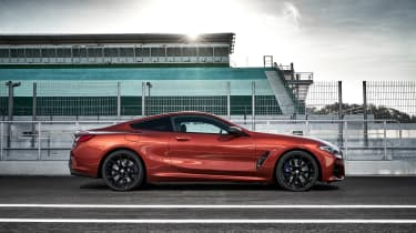 BMW M850i coupe review - profile