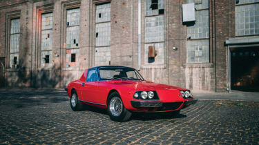Ferrari 330 GTC Zagato - front
