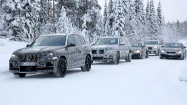 BMW X5 M spies – front