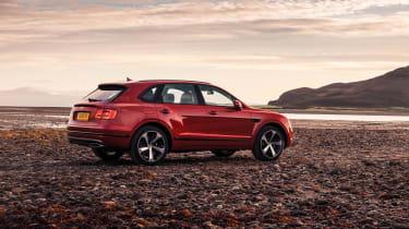 Bentley Bentayga V8 petrol - rear