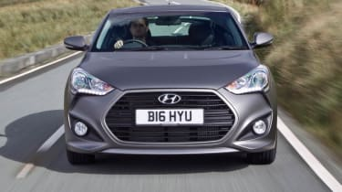 2012 Hyundai Veloster Turbo front grille