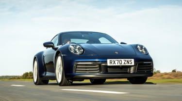 Porsche 911 Carrera S manual tracking