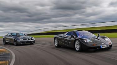 Mclaren F1 and SLR