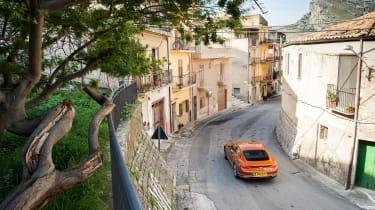 Bentley Continental GT - city top