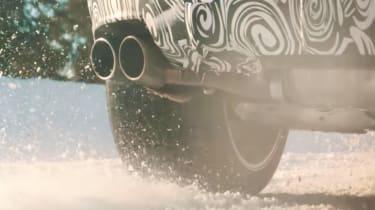 Lamborghini Urus snow video – exhaust
