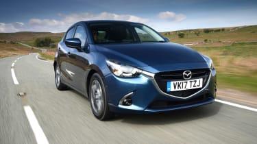 2017 Mazda 2 - front dynamic