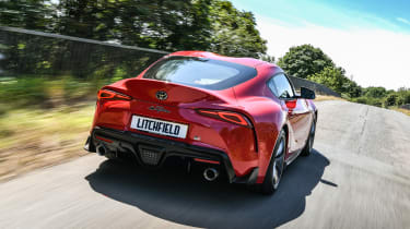 Litchfield Toyota Supra rear dynamic