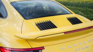 991.2 Porsche 911 Turbo S - rear static