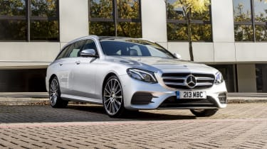 Mercedes E400d Estate review - nose